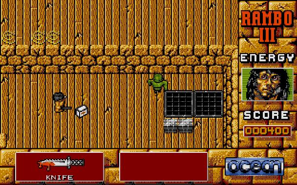 Rambo III Ocean Atari ST Xtreme Retro 3