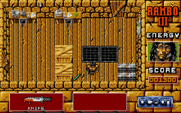 Rambo III Ocean Atari ST Xtreme Retro 4