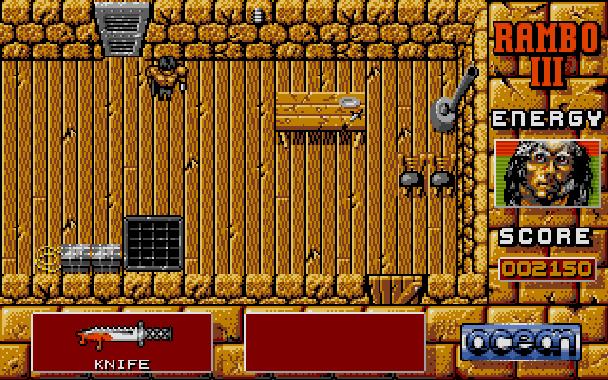 Rambo III Ocean Atari ST Xtreme Retro 6