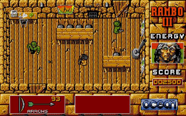 Rambo III Ocean Atari ST Xtreme Retro 7