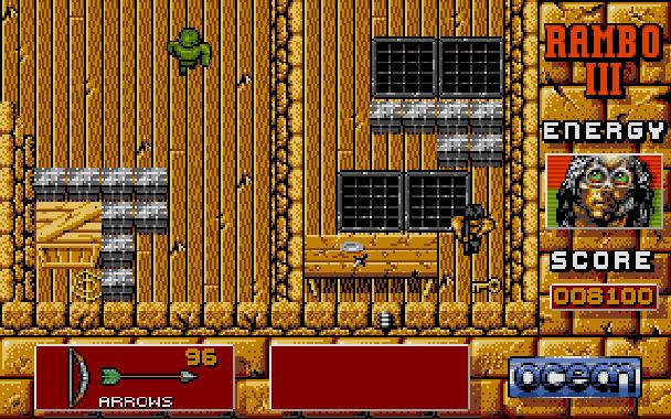 Rambo III Ocean Atari ST Xtreme Retro 8