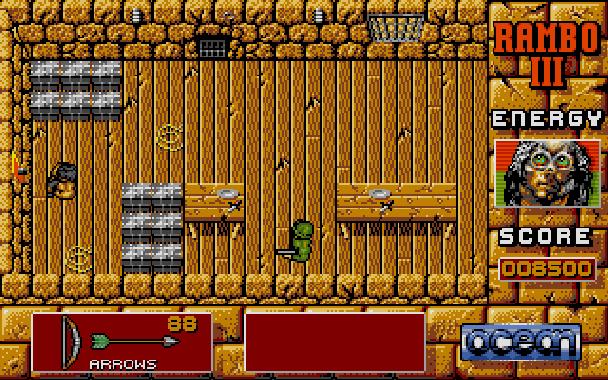 Rambo III Ocean Atari ST Xtreme Retro 9
