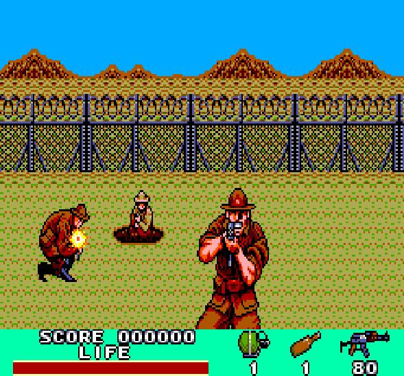 Rambo III Sega Master System Xtreme Retro 3