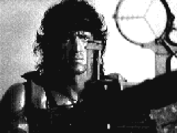 Rambo MSX Pack In Video 1985 Xtreme Retro Pixel Art