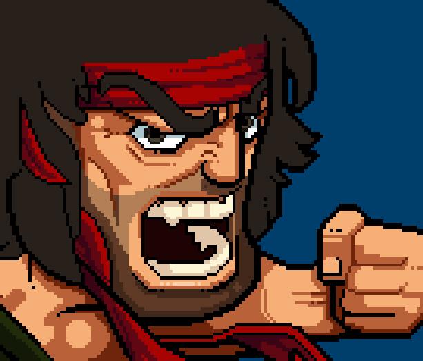 Rambo NES Pack in Video 1987 Xtreme Retro Pixel Art