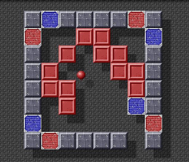 Ricochet Xtreme Retro Pixel Art