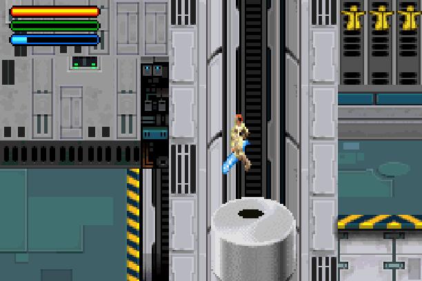 Star Wars Jedi Power Battles THQ LucasArts Beat em up Nintendo Game Boy Advance GBA Xtreme Retro 12