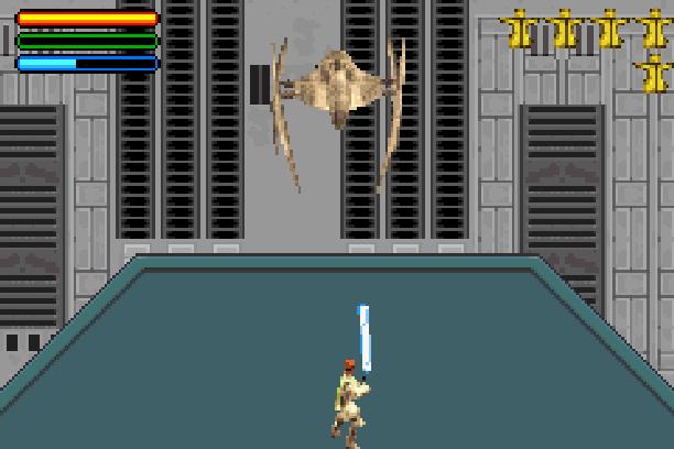 Star Wars Jedi Power Battles THQ LucasArts Beat em up Nintendo Game Boy Advance GBA Xtreme Retro 15