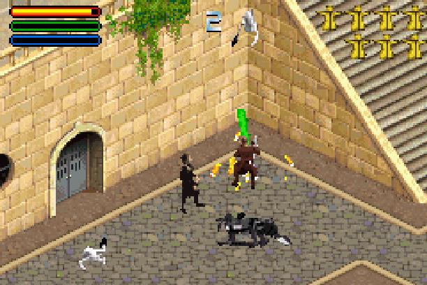 Star Wars Jedi Power Battles THQ LucasArts Beat em up Nintendo Game Boy Advance GBA Xtreme Retro 21