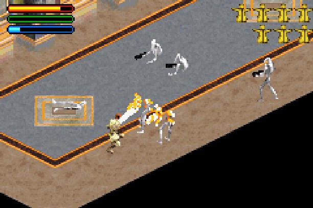 Star Wars Jedi Power Battles THQ LucasArts Beat em up Nintendo Game Boy Advance GBA Xtreme Retro 22