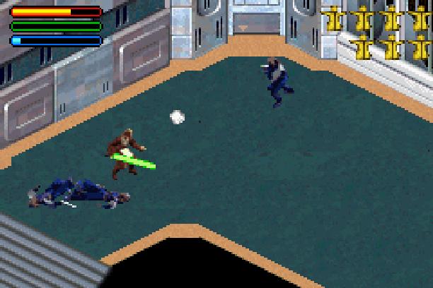 Star Wars Jedi Power Battles THQ LucasArts Beat em up Nintendo Game Boy Advance GBA Xtreme Retro 27