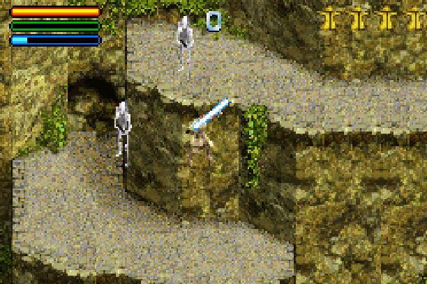 Star Wars Jedi Power Battles THQ LucasArts Beat em up Nintendo Game Boy Advance GBA Xtreme Retro 32