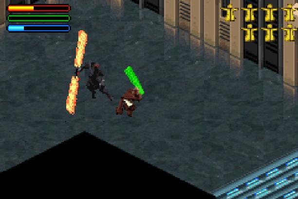 Star Wars Jedi Power Battles THQ LucasArts Beat em up Nintendo Game Boy Advance GBA Xtreme Retro 34