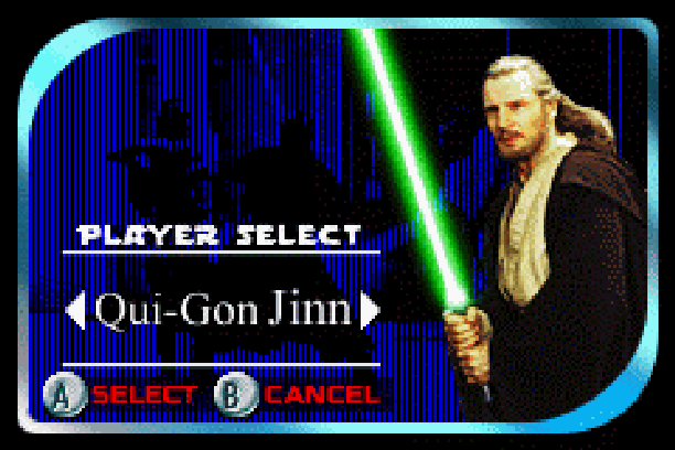 Star Wars Jedi Power Battles THQ LucasArts Beat em up Nintendo Game Boy Advance GBA Xtreme Retro 4