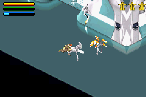 Star Wars Jedi Power Battles THQ LucasArts Beat em up Nintendo Game Boy Advance GBA Xtreme Retro 9