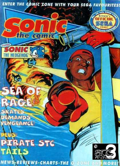 Streets of Rage Comic Mark Millar Xtreme Retro Sega
