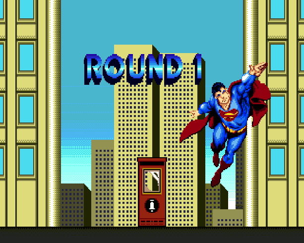 Superman the man of steel DC Comics Virgin Sunsoft Sega Genesis Mega Drive Xtreme Retro 1