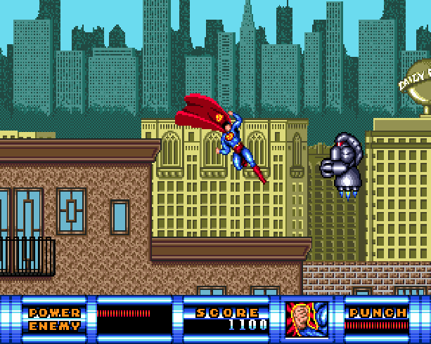 Superman the man of steel DC Comics Virgin Sunsoft Sega Genesis Mega Drive Xtreme Retro 3