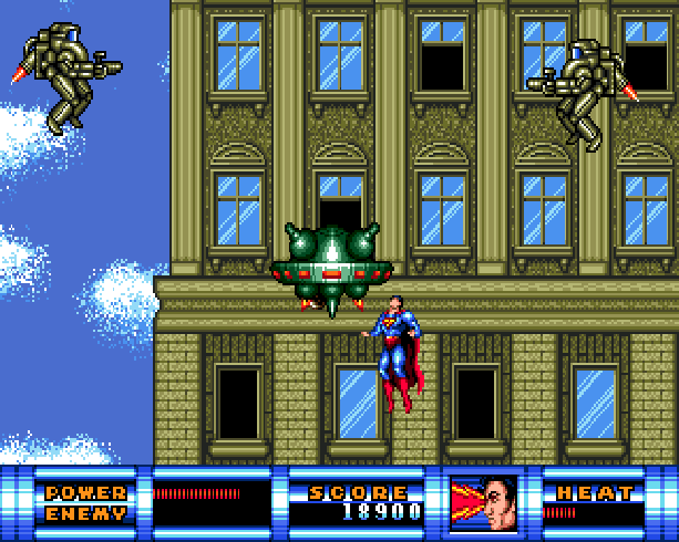 Superman the man of steel DC Comics Virgin Sunsoft Sega Genesis Mega Drive Xtreme Retro 4