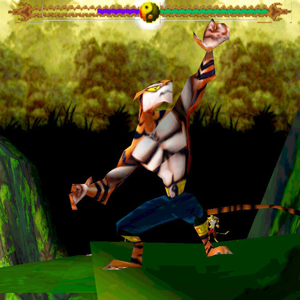 T'ai Fu Wrath of the Tiger Dreamworks Interactive Activision Sony PlayStation PSone PSX beat em up Xtreme Retro 1