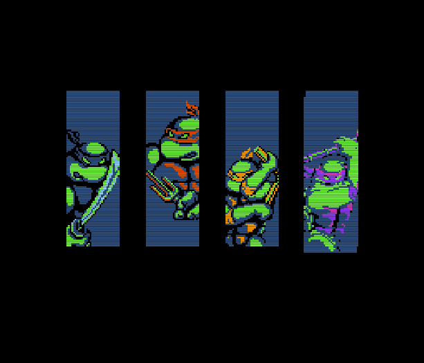 Teenage Mutant Ninja Turtles TMNT Konami Nintendo Entertainment System NES Amiga Amstrad CPC Atari ST Commodore 64 PC MS-DOS MSX ZX Spectrum Xtreme Retro 1