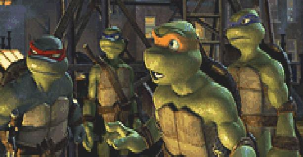 Teenage Mutant Ninja Turtles TMNT Konami Nintendo Entertainment System NES Amiga Amstrad CPC Atari ST Commodore 64 PC MS-DOS MSX ZX Spectrum Xtreme Retro Pixel Art