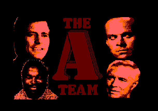 The A Team El Equipo A Zafiro Software ZX Spectrum Amstrad CPC MSX PC 1988 Xtreme Retro 1