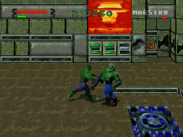 The Incredible Hulk the Pantheon Saga Eidos Interactive Marvel Comics Sony PlayStation PSone PSX Sega Saturn PC MS-DOS Xtreme Retro 14