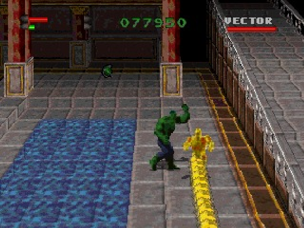 The Incredible Hulk the Pantheon Saga Eidos Interactive Marvel Comics Sony PlayStation PSone PSX Sega Saturn PC MS-DOS Xtreme Retro 15