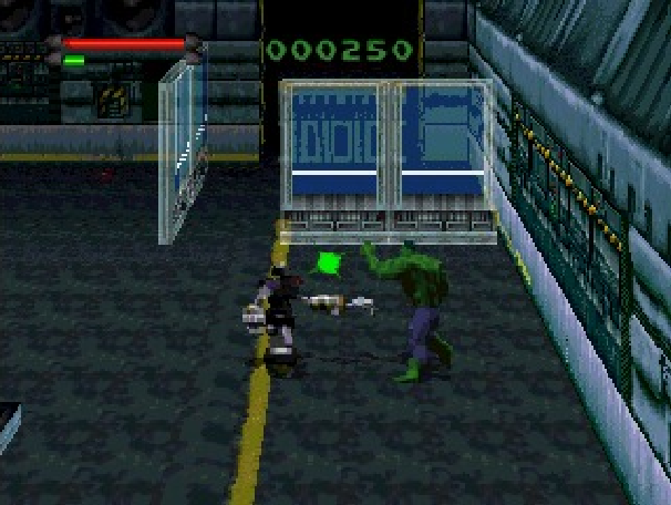 The Incredible Hulk the Pantheon Saga Eidos Interactive Marvel Comics Sony PlayStation PSone PSX Sega Saturn PC MS-DOS Xtreme Retro 2