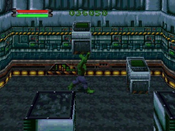 The Incredible Hulk the Pantheon Saga Eidos Interactive Marvel Comics Sony PlayStation PSone PSX Sega Saturn PC MS-DOS Xtreme Retro 4