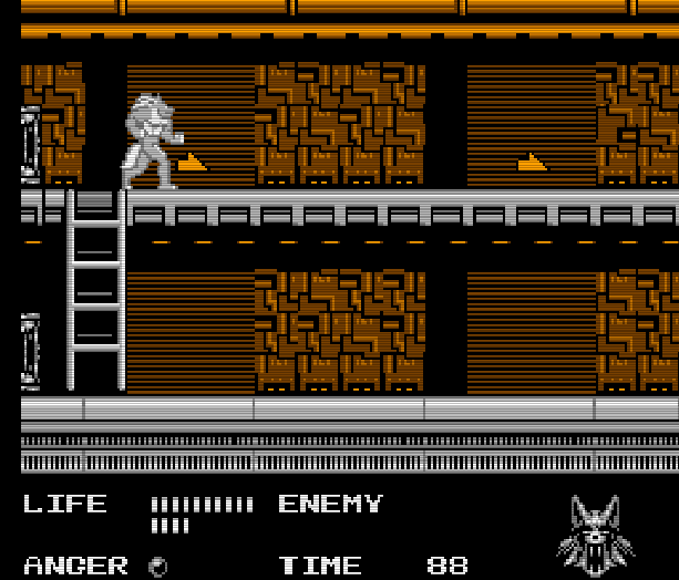 Werewolf the Last Warrior SAS Sakata Data East Takara Nintendo Entertainment System NES Xtreme Retro 10