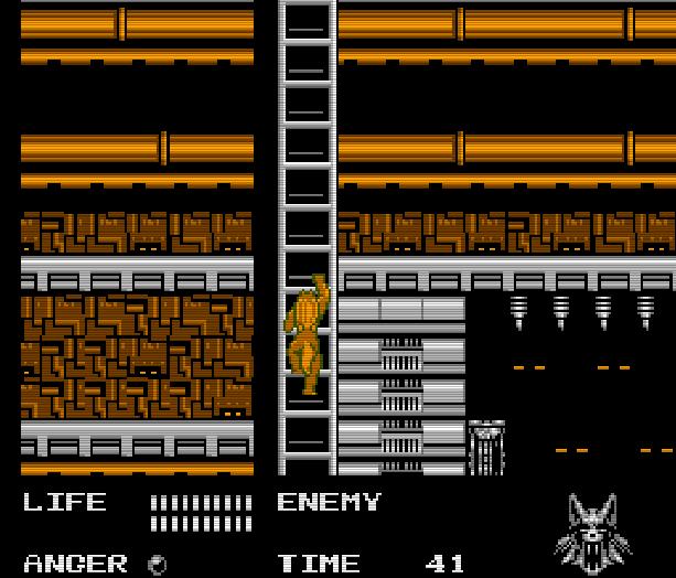 Werewolf the Last Warrior SAS Sakata Data East Takara Nintendo Entertainment System NES Xtreme Retro 11