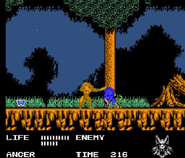 Werewolf the Last Warrior SAS Sakata Data East Takara Nintendo Entertainment System NES Xtreme Retro 5