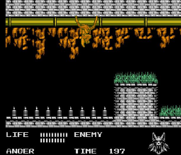 Werewolf the Last Warrior SAS Sakata Data East Takara Nintendo Entertainment System NES Xtreme Retro 7