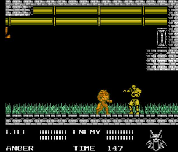 Werewolf the Last Warrior SAS Sakata Data East Takara Nintendo Entertainment System NES Xtreme Retro 8