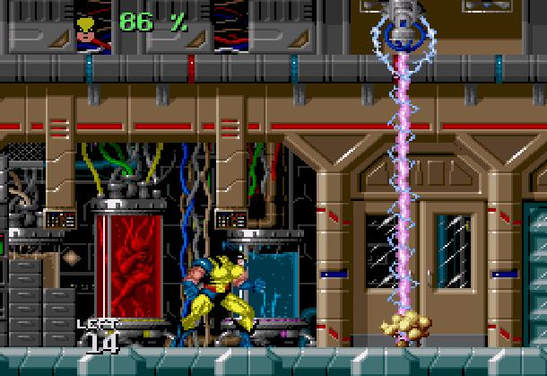 Wolverine Adamantium Rage Acclaim LJN Sega Genesis Mega Drive MD Super Nintendo SNES Marvel Comics Xtreme Retro 1
