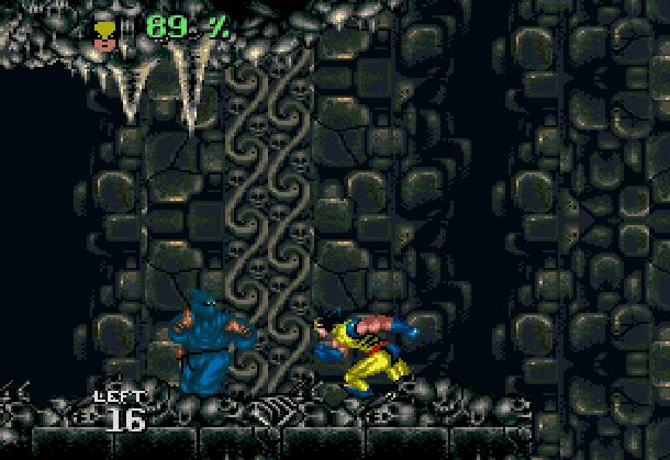 Wolverine Adamantium Rage Acclaim LJN Sega Genesis Mega Drive MD Super Nintendo SNES Marvel Comics Xtreme Retro 3