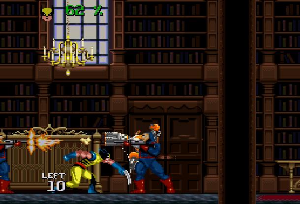 Wolverine Adamantium Rage Acclaim LJN Sega Genesis Mega Drive MD Super Nintendo SNES Marvel Comics Xtreme Retro 4