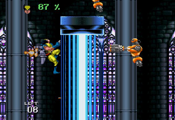 Wolverine Adamantium Rage Acclaim LJN Sega Genesis Mega Drive MD Super Nintendo SNES Marvel Comics Xtreme Retro 5
