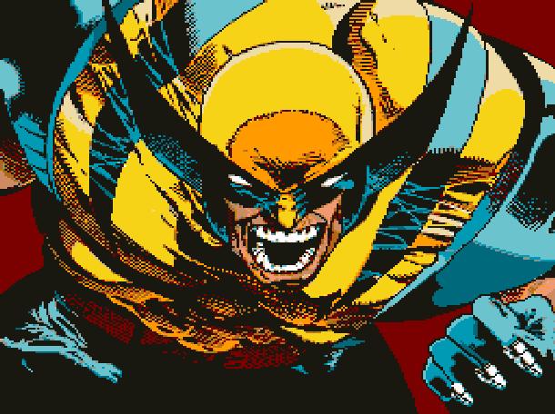 Wolverine Adamantium Rage Acclaim LJN Sega Genesis Mega Drive MD Super Nintendo SNES Marvel Comics Xtreme Retro Pixel Art 1