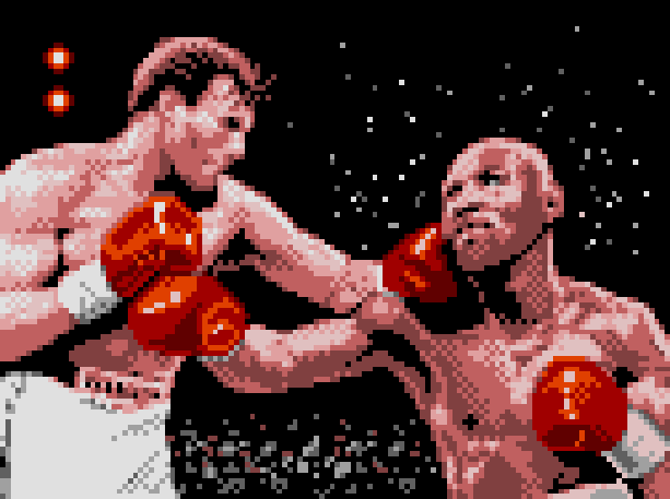 Boxing Activision 1989 Atari 2600 Bob Whitehead Pixel Art Xtreme Retro
