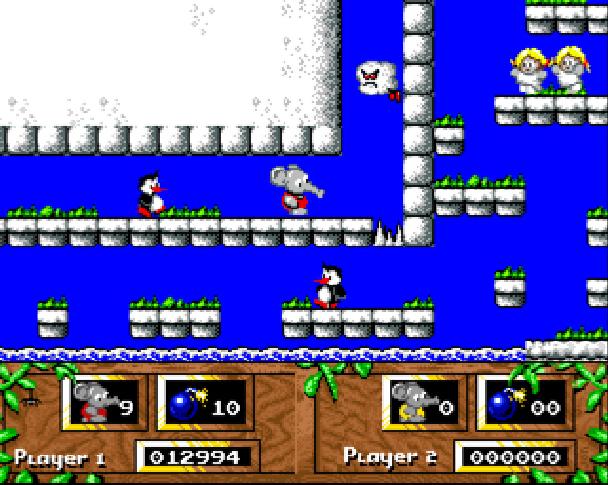 CJs Elephant Antics Codemasters 1991 Commodore 64 C64 Atari ST Amiga Nintendo Entertainment System NES Famicom Spectrum ZX Xtreme Retro 2