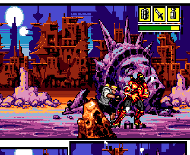 Comix Zone Sega Genesis Mega Drive MD Beat em up Xtreme Retro