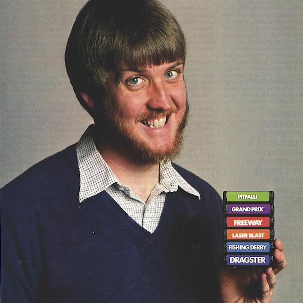 David Crane Activision Atari 2600 Games Xtreme Retro