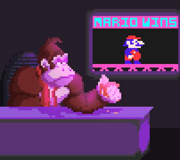 Donkey Kong Nintendo Jumpman Pixel Art Xtreme Retro