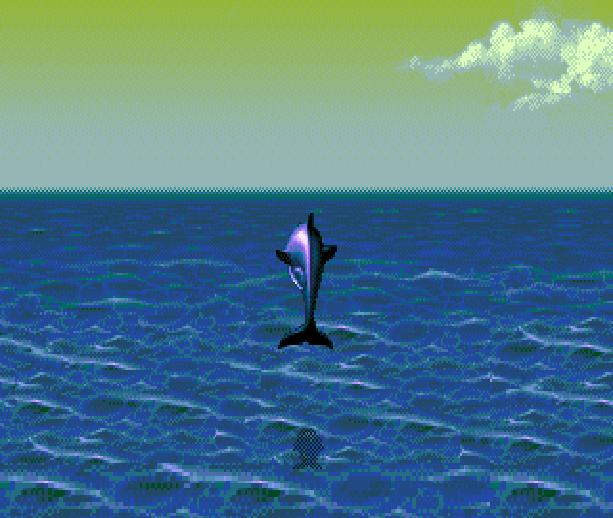 Ecco the Dolphin II The Tides of Time Sega Genesis Mega Drive MD Xtreme Retro