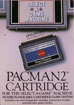 Entex Pac-Man 2 Cardrige Xtreme Retro