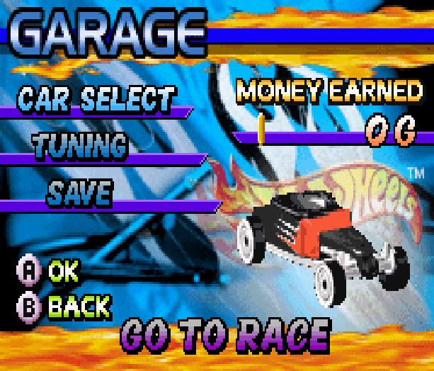 Hot Wheels Burnin Rubber THQ Altron Nintendo Game Boy Advance GBA Xtreme Retro 3
