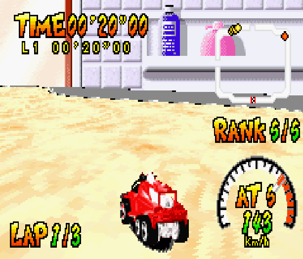 Hot Wheels Burnin Rubber THQ Altron Nintendo Game Boy Advance GBA Xtreme Retro 4